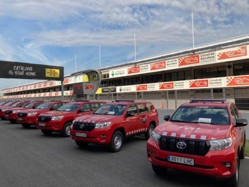 120 Toyota Land Cruiser para los Bomberos de la Generalitat