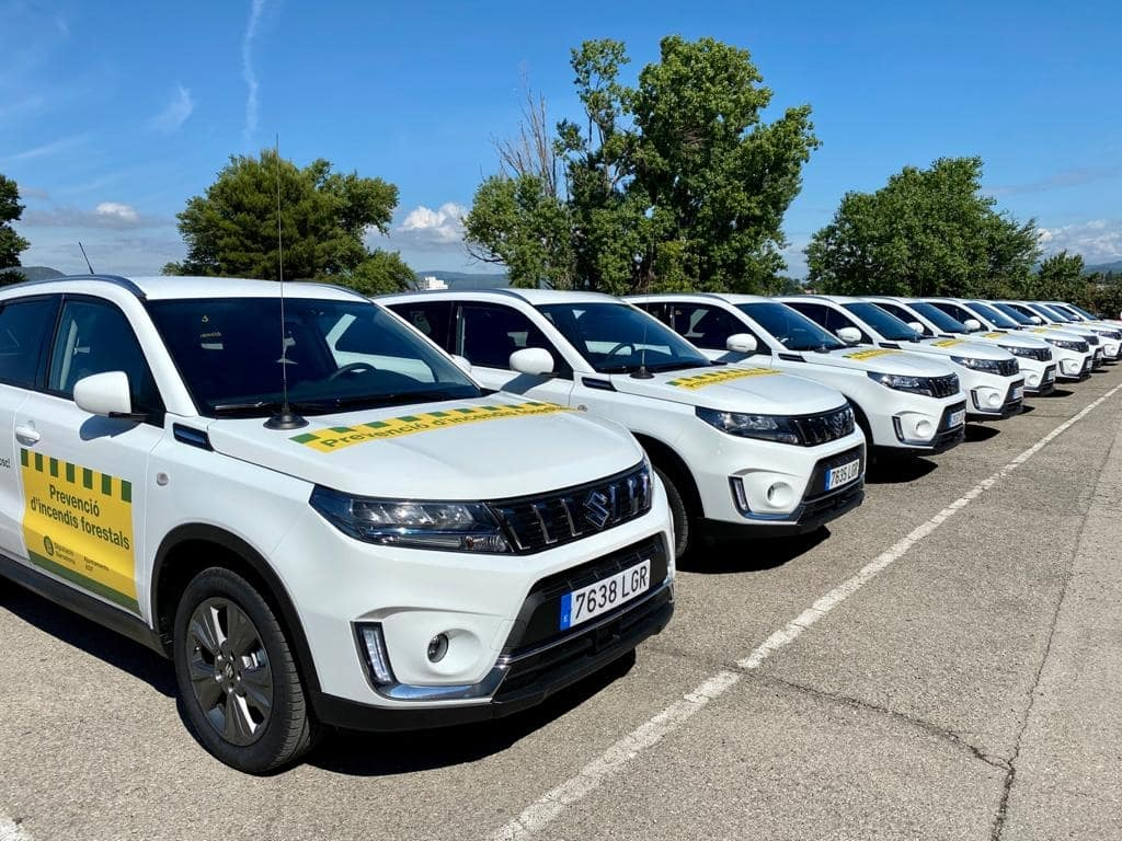 Suzuki Vitara Hybrid contra los incendios