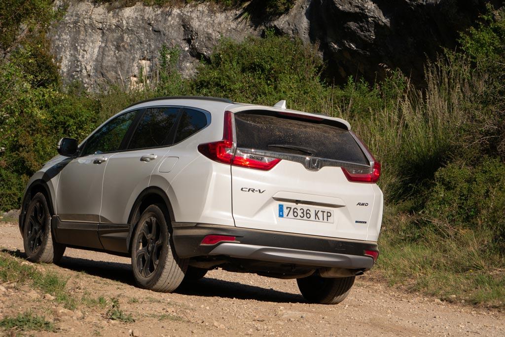 Prueba Honda CR-V Hybrid 4x4