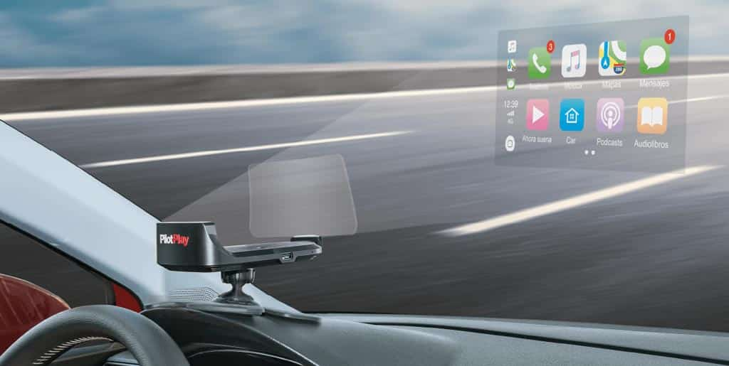 PilotPlay Head up display
