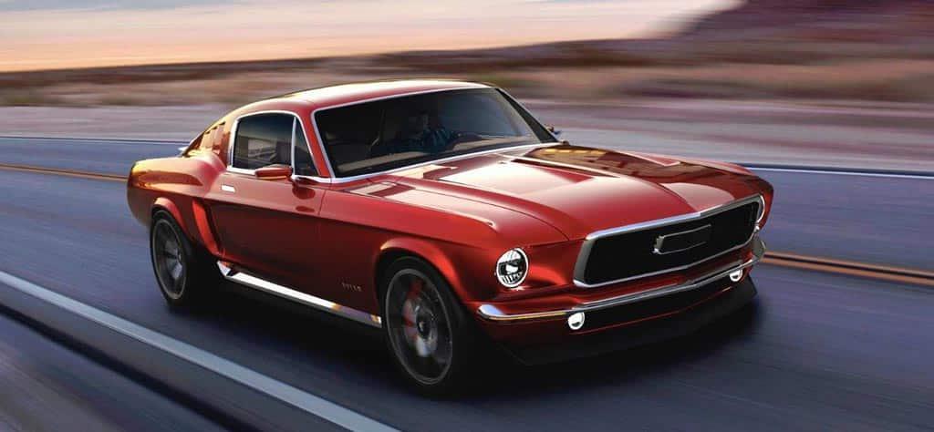 Aviar R67 un Mustang clásico y 100% eléctrico