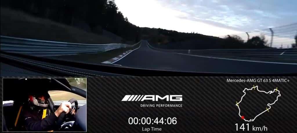 Pique entre Mercedes y Porsche en Nurburgring