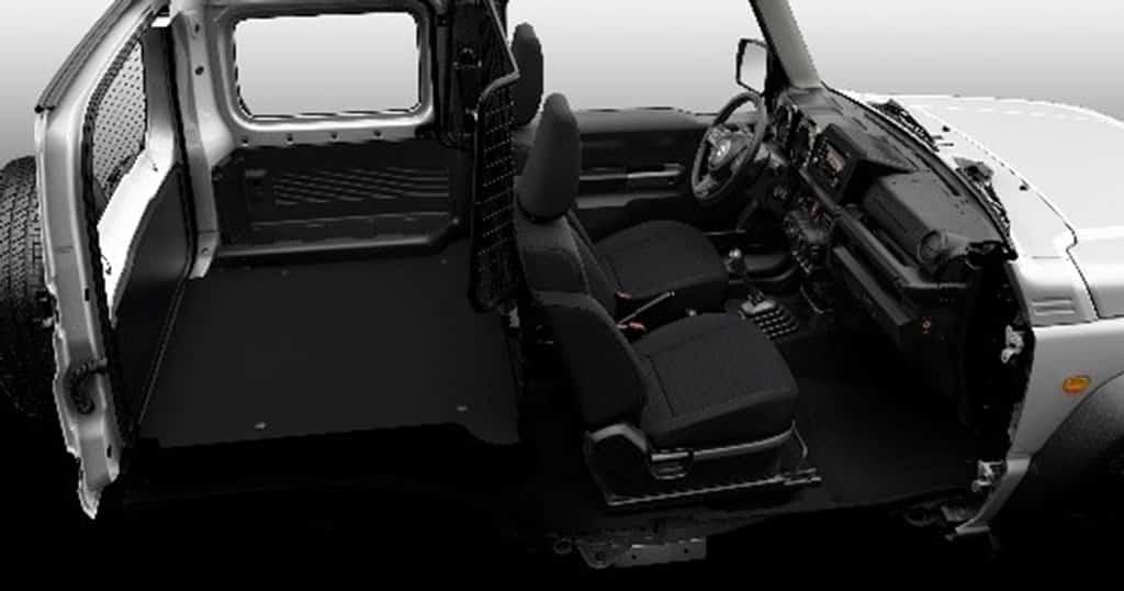 Suzuki Jimny como comercial ligero