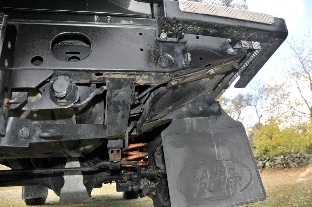 preparación del Land Rover Defender 110 Td5