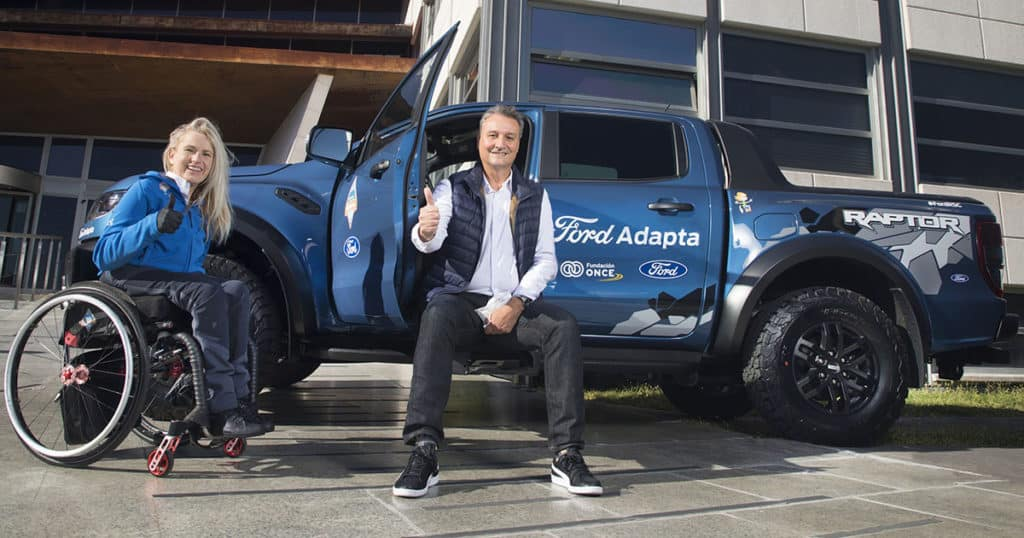 Ford Ranger Raptor adaptado