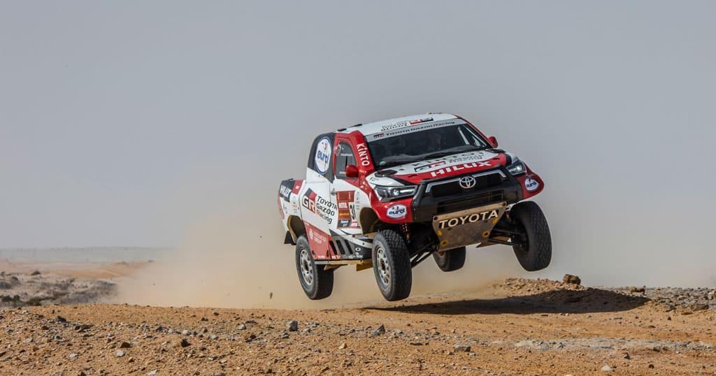Equipo oficial Toyota Hilux Dakar 2021