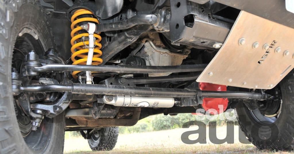 Preparacion 4x4 Jeep Wrangler