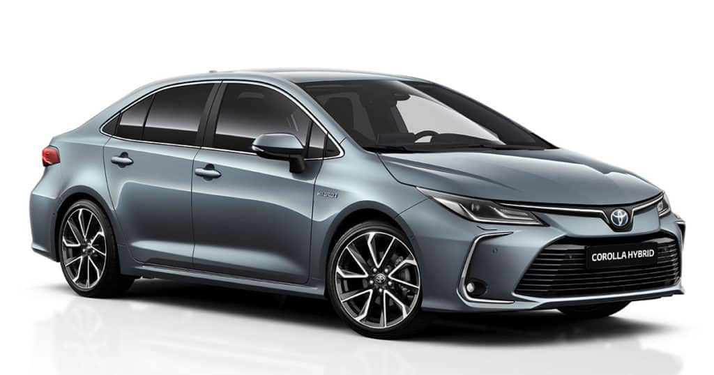 Toyota Corolla Sedan Electric Hybrid 2021