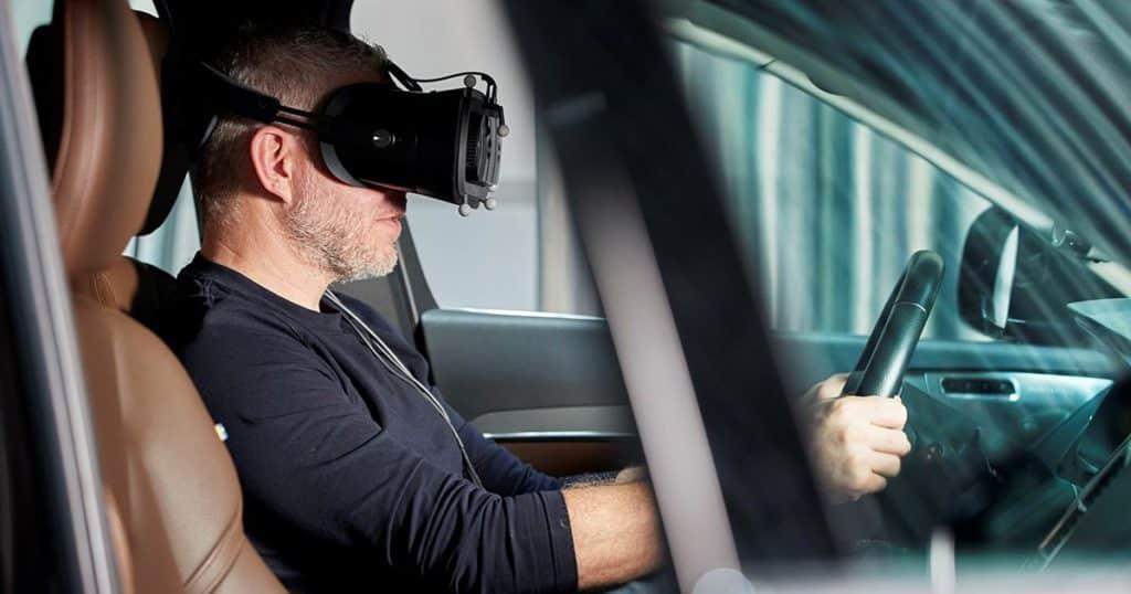 realidad virtual volvo