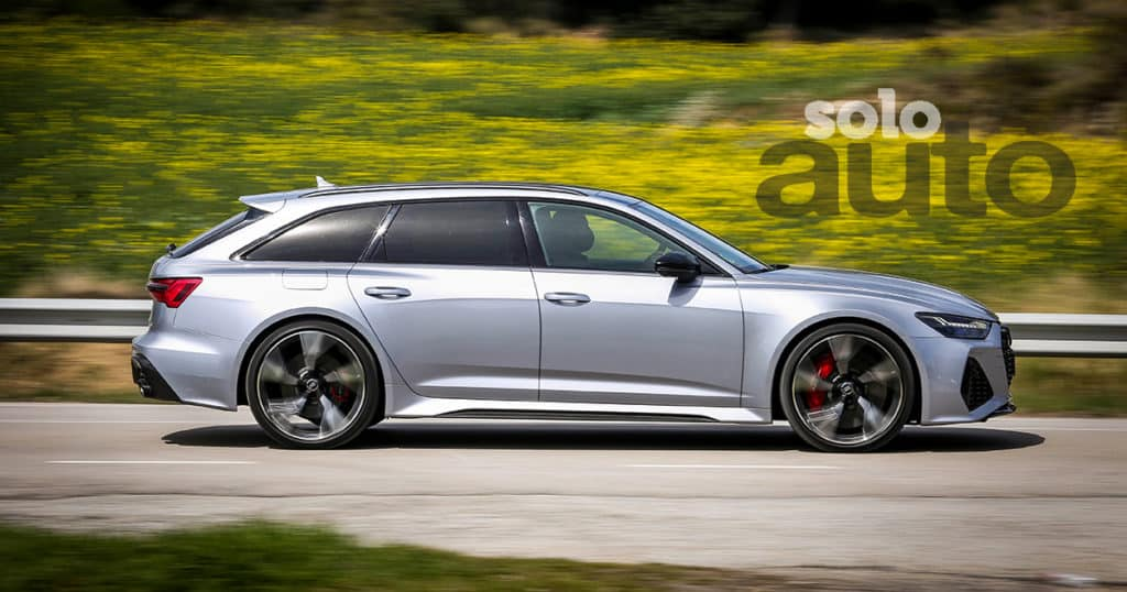 Audi RS6 Avant 2021 lateral