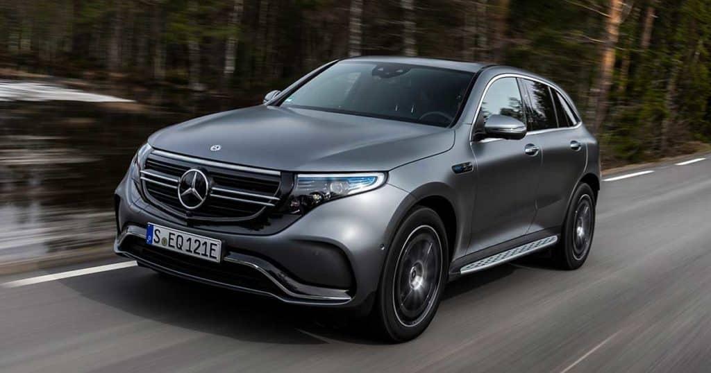 Mercedes-Benz EQC 400 4Matic coches electricos mas caros
