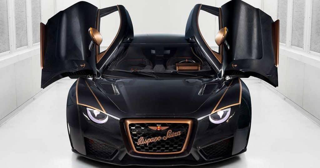 Los coches eléctricos más caros hispano suiza
